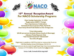 NACOReceptionAwardforNACOScholarshipProgram